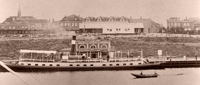 Eerste station IJmuiden