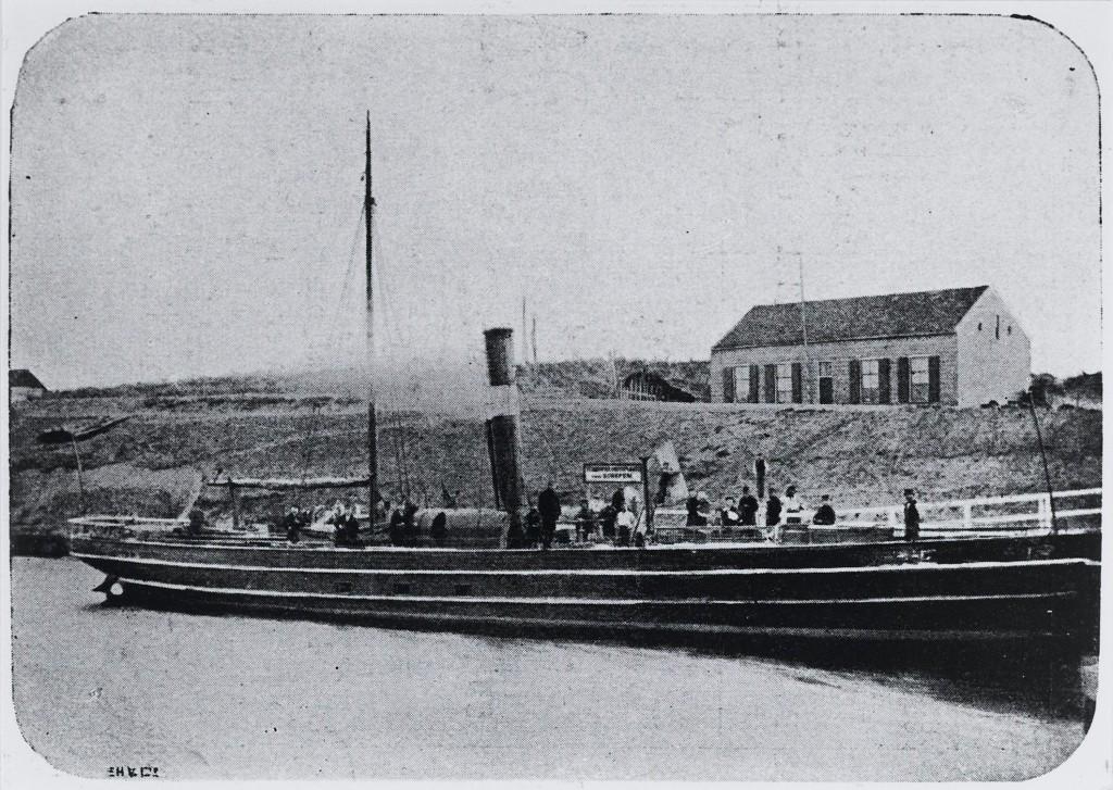 KVSA met schip